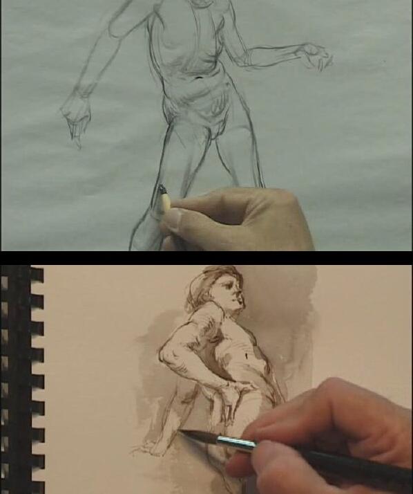 Glenn Vilppu 经典人体素描精细示范教程