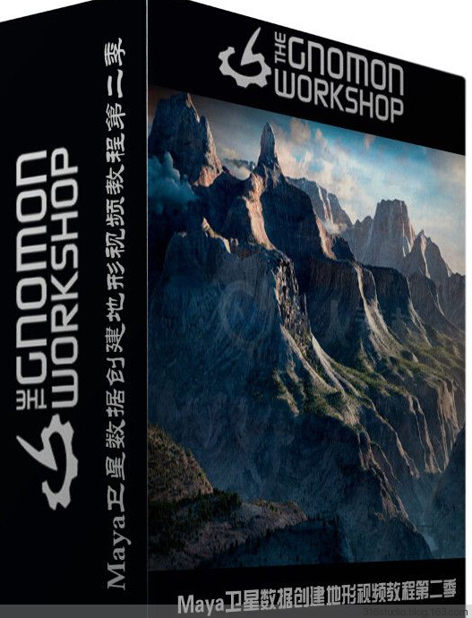 卫星数据创建地形视频教程(The Gnomon Workshop–Creating Terrains with Satellite Data)
