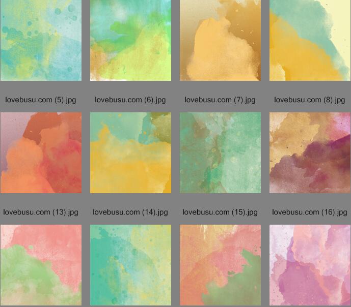 54张高清水彩底纹背景素材