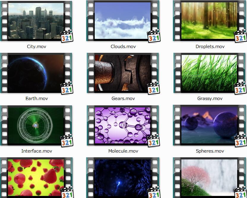 高清视频背景素材(Video.Backgrounds.HD.v2.0)