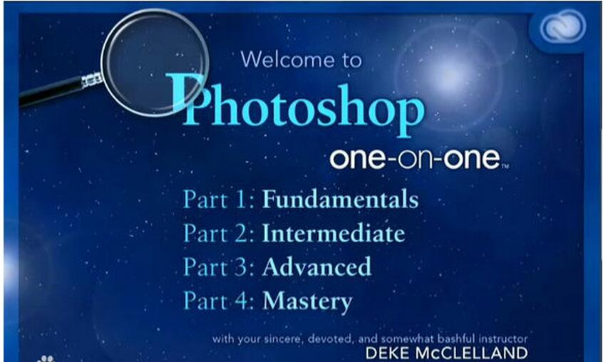 Photoshop CC一对一基础训练视频教程(Photoshop CC One-on-One Fundamentals)中文字幕
