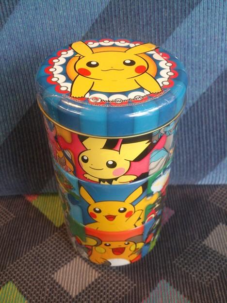 ポケモンセンターオリジナル ポケモンパズル缶 ピチュー&ピカチュウ&ライチュウ