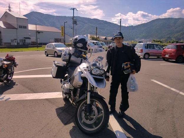 bmwGS/四日市から(in奥琵琶湖)