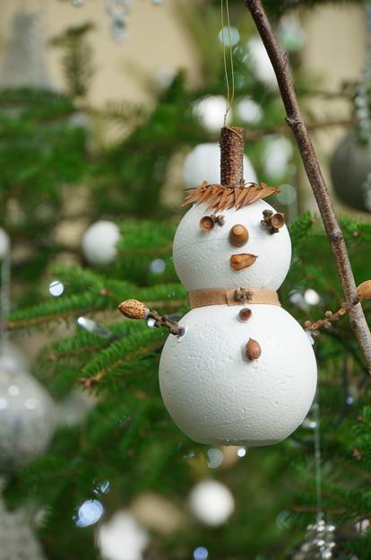 雪だるまオーナメント