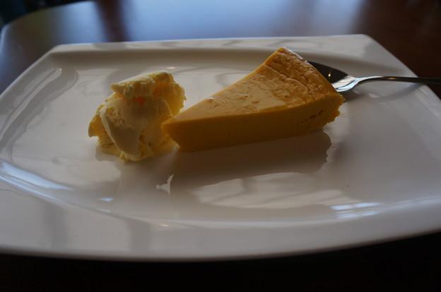 パンプキンケーキ( *´艸`)