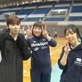 写真: みのりさん、あきさん、あすかさん