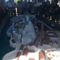 Photos: 軍艦島の模型