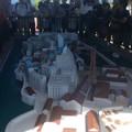 軍艦島の模型