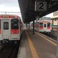 松浦鉄道に乗車