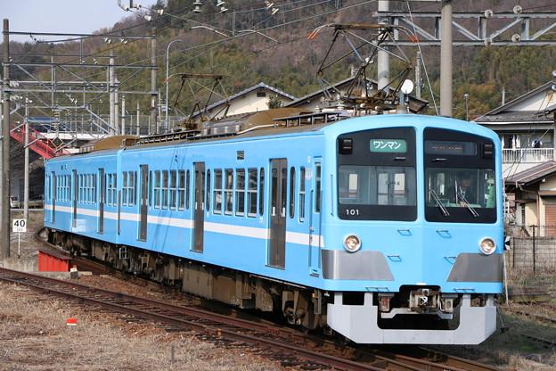 近江鉄道100形 101F 湖風号