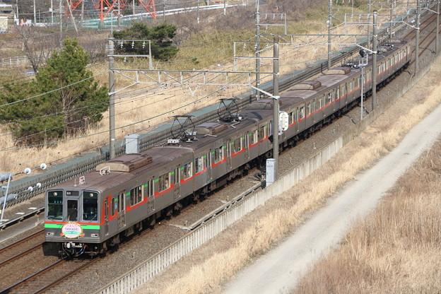 北総(千葉NT鉄道)9000形 9018F さよなら運転