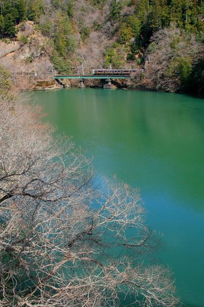 天竜川と飯田線