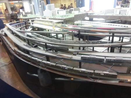 地下鉄のジオラマ