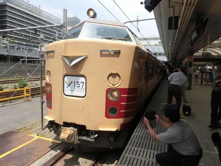 485系Y157@新宿駅