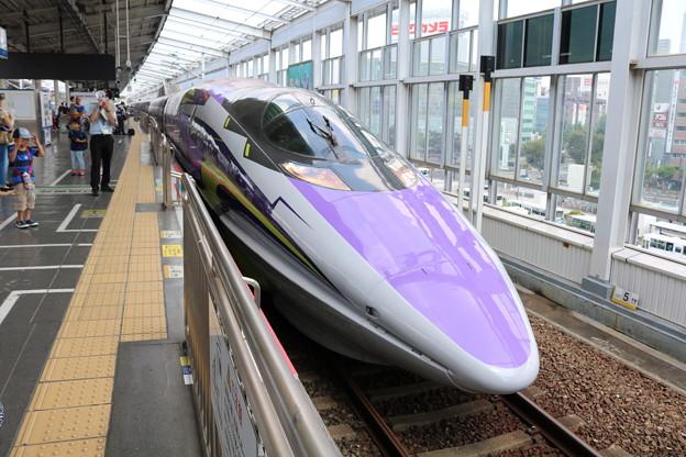 500 TYPE EVA@岡山駅