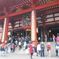 浅草寺は外国人が多い
