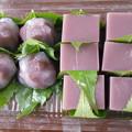 Photos: 水羊羹と葛桜