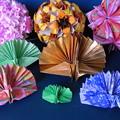 折り紙 孔雀鶴とくす玉折り