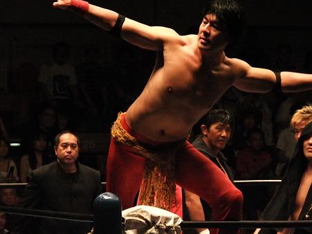 全日本プロレス 後楽園ホール 20110712 (14)