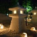 写真: 上杉雪灯籠まつり2013ヒッパリ出し?