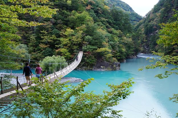 寸又峡・夢の吊橋_6