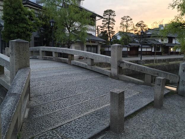 倉敷美観地区 倉敷川にかかる中橋