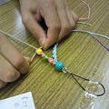 写真: ヘンプ編み体験教室@2011/9/111
