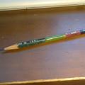 Photos: チビた鉛筆接続その3 低価格な鉛筆はドリルで穴空けし難い。途中で割れた。