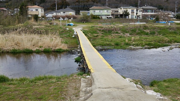 陵北公園近くの橋