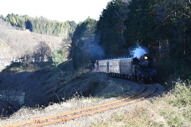 Photos: 真岡鐵道 SL列車上り