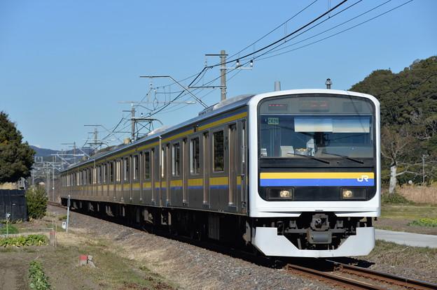 内房線普通列車 2186M