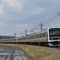 写真: 成田線 普通列車 2445M