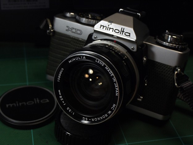 minolta MC W.ROKKOR-SG 28mmF3.5(前期55mm版第2世代)