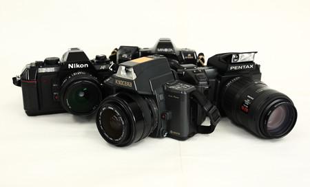 京セラ 230-AFとその他AF黎明期のカメラたち