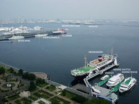 2016.10.2 朝の横浜港