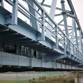 写真: 鉄橋ちけぇ