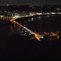 弁天橋の夜景20161009