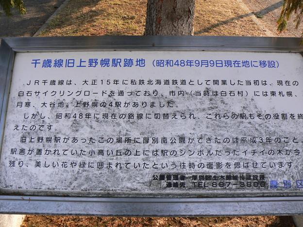 千歳線旧上野幌駅跡地P1000799