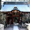三峯神社の山門