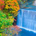 松川渓谷 紅葉