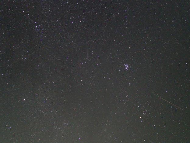 スバルとペルセウス座流星 (2)