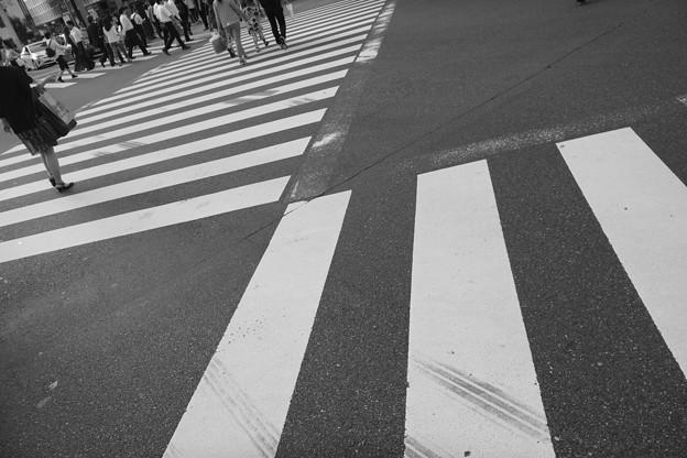 white line
