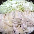写真: 鶏肉ぷりっぷり