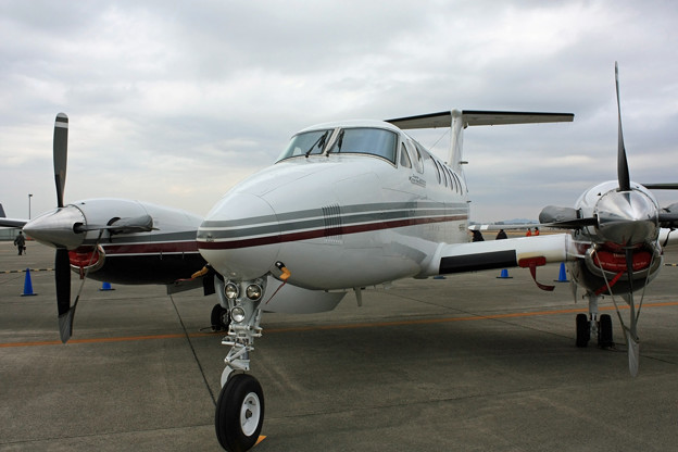 中日本航空 ビーチクラフト・キングエア IMG_0873_2