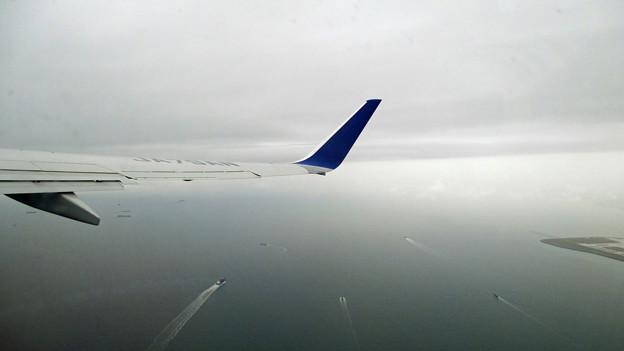 伊勢湾上空を上昇中 IMG_0412_2