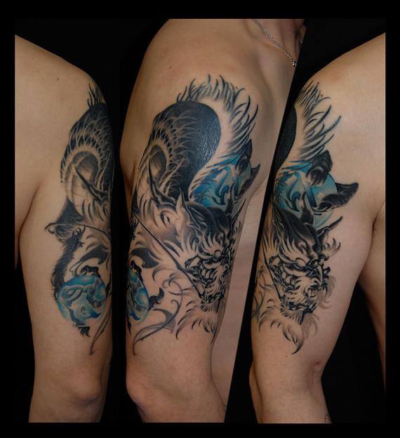 刺青 タトゥー 龍 dragon tattoo