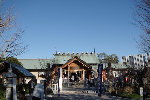 石浜神社(寿老神)