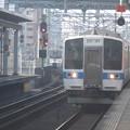 Photos: 415系 1510 吉塚駅にて