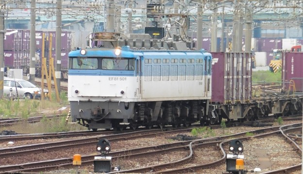 Photos: EF 81 501 機関車