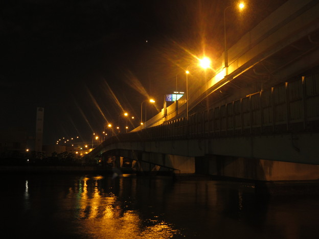 夜の博多港  5